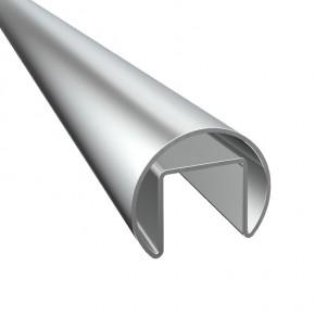 Nutrohr Ø42,4x1,5mm L=5m A2 Korn240