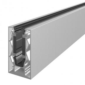 Systemprofilset Aufsatzmontage ohne Lasche VSG17,52mm L=2,5m