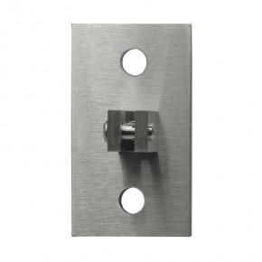 Wandhalter oben 105x65x33mm 1Gabel drehbar 2xØ13mm A2