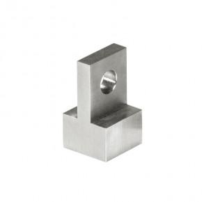 Öse 20x20x25mm Gewinde M10-tiefe12mm für Punkthalter 1781VA A2