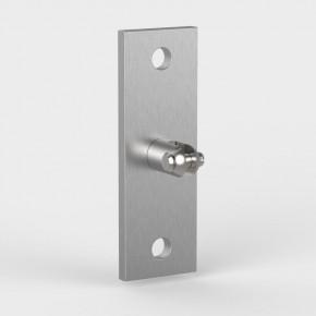 Wandhalter oben 150x50x33mm 1Gabel starr 2xØ13mm Vertikal A2