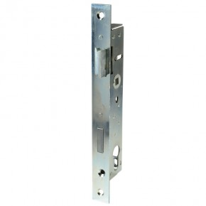 Rohrrahmen-Einsteckschloss D=40mm A=92mm verzinkt