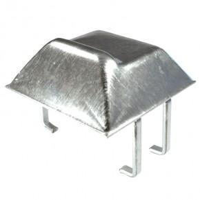 Auflaufschuh 175x175x50mm Stahl feuerverzinkt