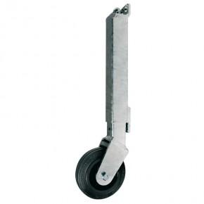 Teleskoprolle verstellbar bis 80 kg L=387mm