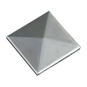 Pfostenkappe Innen 80x80mm Pyramide ST roh