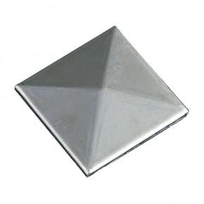 Pfostenkappe Innen 50x50mm Pyramide ST roh