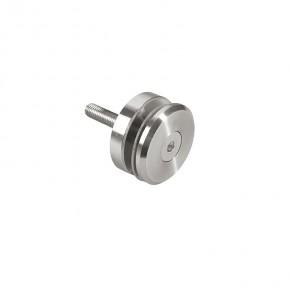 Punkthalter Ø52x12mm erhaben Fase Flach M10 A2