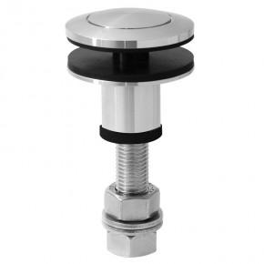 Punkthalter Ø60mm erhaben oval M16 beweglich A4