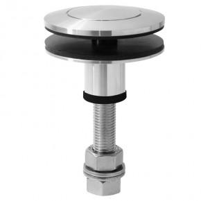 Punkthalter Ø80mm erhaben oval M16 beweglich A4