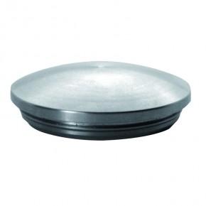 Endkappe Ø42,4x2,0mm oval massiv kurz A2