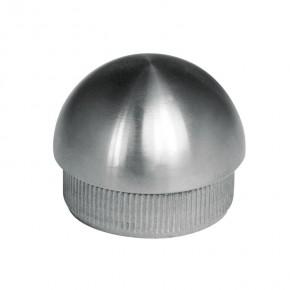 Endkappe Ø33,7x2,0mm rund massiv A2