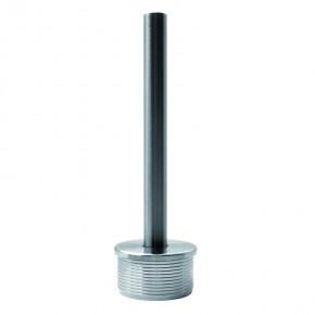 Handlaufträger für Ø42,4x2,6mm mit Stab Ø12x120mm zum schweißen starr A2