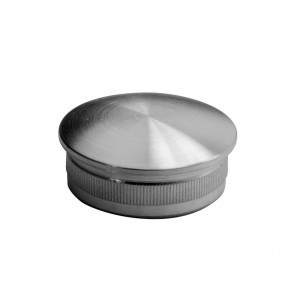 Endkappe Ø42,4x2,0mm oval hohl A2