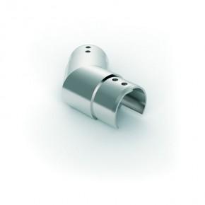 Nutrohrverbinder Ø42,4mm 135° eckig Horizontal A4 Korn240
