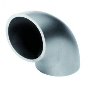 Rohrverbinder 90° Ø33,7mm rund schweißen s=2,0mm A2