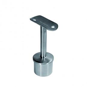 Handlaufträger für Ø33,7x2,0mm H=78mm hohl starr A2