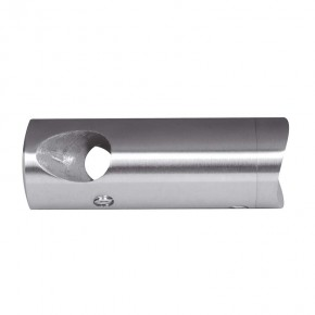 Querstabhalter Ecke 90° Ø22mm für Ø12mm Ø42,4mm A2