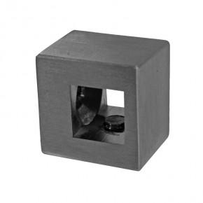 Querstabhalter 20x16x20mm für 10x10mm Flach A2