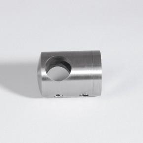 Querstabhalter Mitte Ø22mm für Ø10mm Flach A4