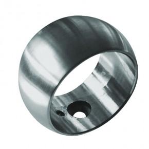 Kugelring Ø55mm für Rohr Ø42,4mm A2