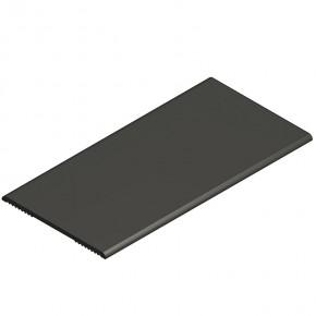 Dichtprofil Wandanschluss L=2,5m KU silbergrau