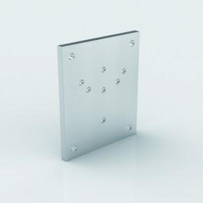 Wandplatte 245x205x15mm Stahl verzinkt