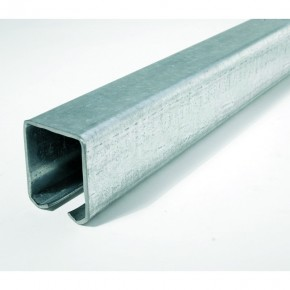"""Laufschiene """"leicht"""" 70x60mm L=3m Stahl verzinkt"""