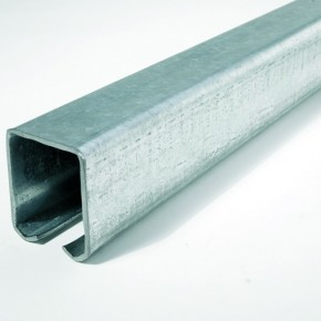 Laufschiene Hängetore 53x42x2,5mm L=3m Stahl verzinkt
