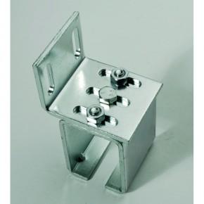 Wandhalter verstellbar 71x52mm für 20 61 23 00 Stahl verzinkt