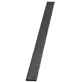 Handlauf 40x8mm Form Welle kantengehämmert L=3m ST