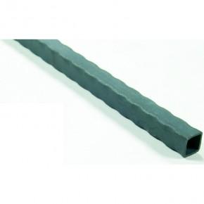 Rohr 40x40x 2,5mm kantengehämmert L=3m ST