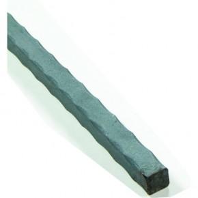 Stab 16x16mm kantengehämmert L=3m ST