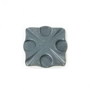 Bodenplatte geschmiedet 95x95x8mm ST