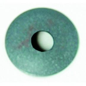 Endkappe Ø33,7x5mm flach Ø12mm zum schweißen ST roh