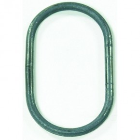 Ring Ø12mm oval 120x200mm glatt Stoß unverschweißt ST