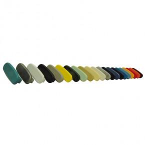 PVC Endkappe für PVC Handlauf 40x8mm schwarz