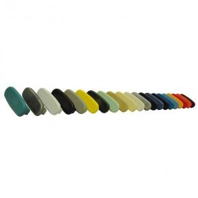 PVC Endkappe für PVC Handlauf 40x8mm anthrazitgrau