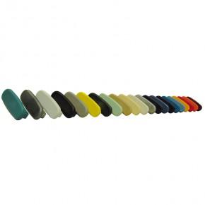 PVC Endkappe für PVC Handlauf 40x8mm telegrau