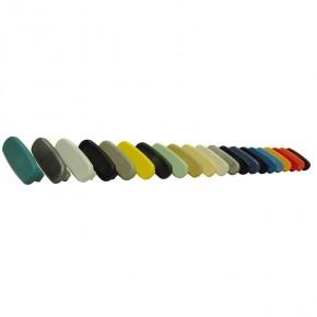 PVC Endkappe für PVC Handlauf 40x8mm verkehrsgrau