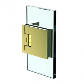 Flamea+ Glas-Wand 90° ZN Gold-Optik
