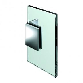 Winkelverbinder Flamea Glas-Wand 90° verstellbar 60°-100° ZN Edelstahleffekt