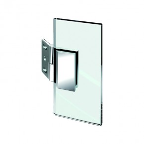 Winkelverbinder Flamea Glas-Wand 135° verstellbar 100°-140° ZN Edelstahleffekt