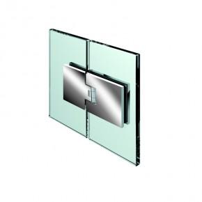 Flamea Glas-Glas 180° ZN Edelstahleffekt