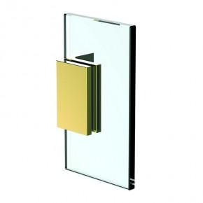 Winkelverbinder Flamea+ Glas-Wand 90° starr ZN Gold-Optik