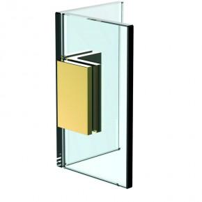 Winkelverbinder Flamea+ Glas-Glas 90° starr ZN Gold-Optik