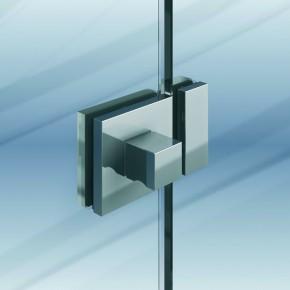 Glastürriegel mit Griffstück 8-10mm MS glanzverchromt