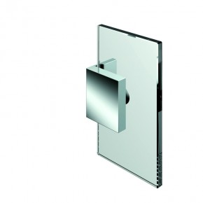 Winkelverbinder Nivello+ Glas-Wand 90° starr Wandbefestigungslasche innenZNm.chr