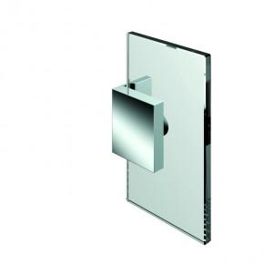 Winkelverbinder Nivello+ Glas-Wand 90° starr Wandbefestigungslasche innenZNg.chr