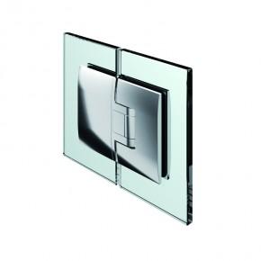 Pontere Glas-Glas 180° mattverchromt