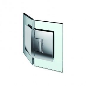 Pontere Glas-Glas 135° Edelstahleffekt